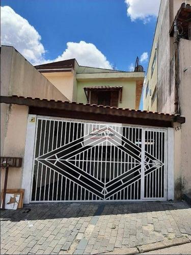 Imagem 1 de 13 de Sobrado Com 2 Dormitórios À Venda, 90 M² Por R$ 400.000,00 - Cidade Patriarca - São Paulo/sp - So0176