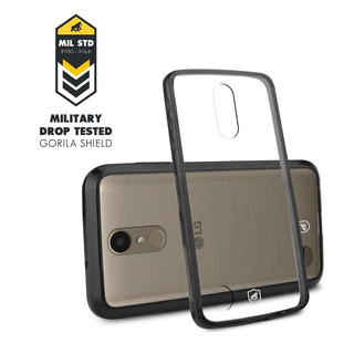 Capa Ultra Slim Air Preta Para LG K10 2017 - Gorila Shield
