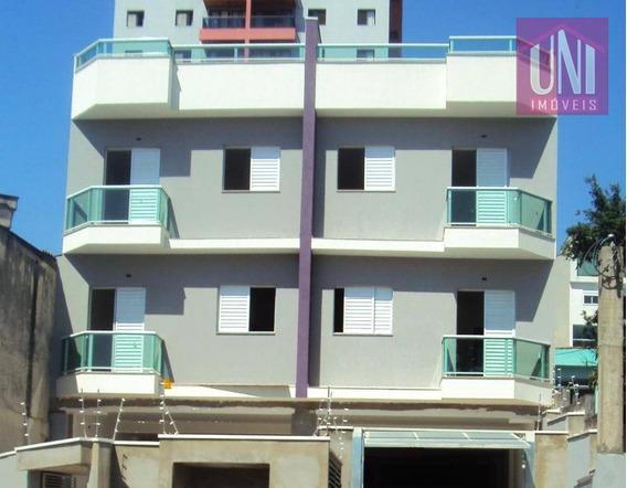 Cobertura Residencial À Venda, Vila Curuçá, Santo André. - Co0192