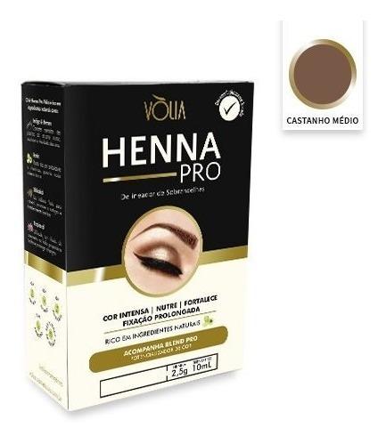 Henna Pro Vòlia Marrom