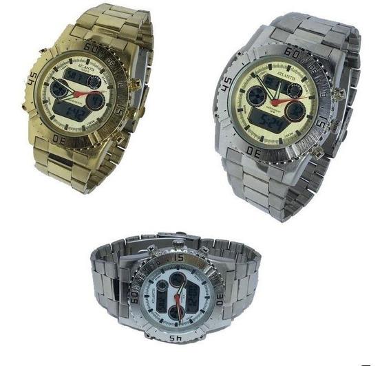 Relógio Masculino Atlantis Analógico Digital Original G3211