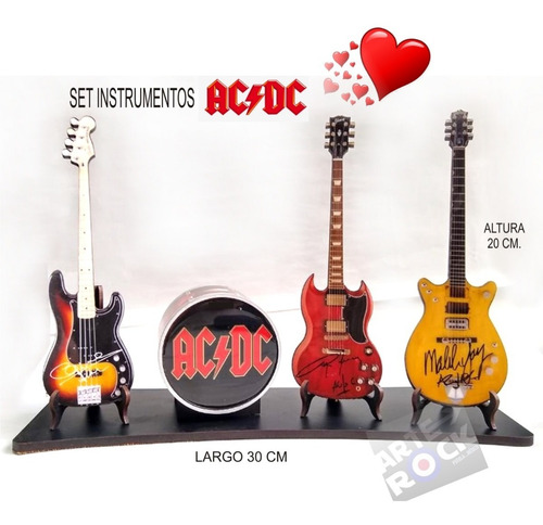 Guitarras A Escala Ac Dc