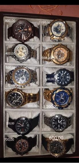 Relógios Diversas Marcas, Estado De Novo ,todos Originais