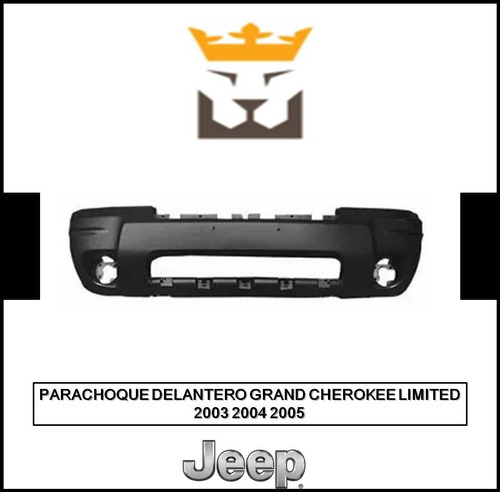 Parachoque Delantero Jeep Grand Cherokee 2003 2004 2005
