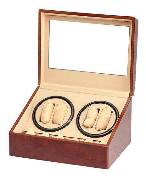 Caja / Alahajero Para Almacenar 4 Reloj Automáticos