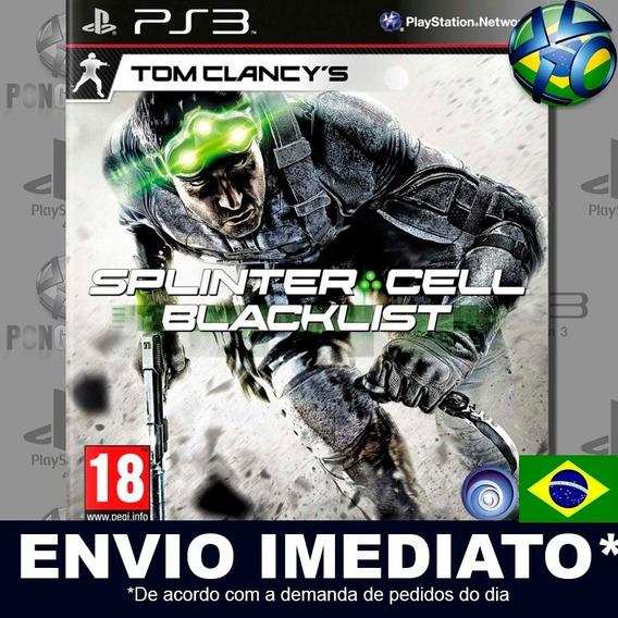 Tom Clancys Splinter Cell Blacklist Ps3 Psn Dublado Portuguê
