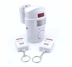 Alarme Sensor De Presença Infravermelho Sem Fio 2 Controles