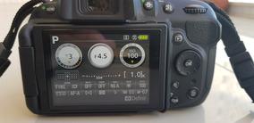 Camera Nikon D5200 Com Lente 18-55