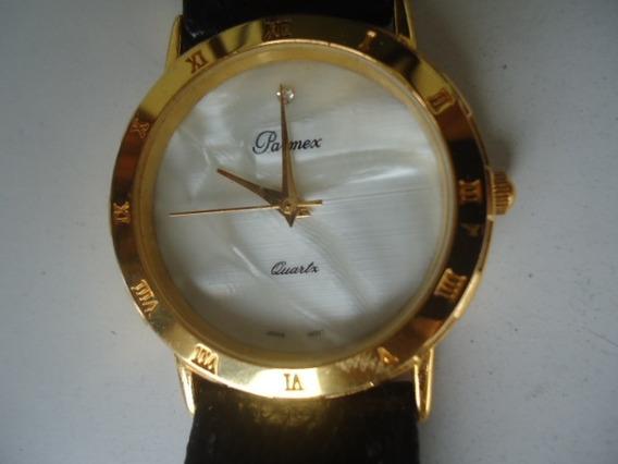 Relógio Parnex Original Semi Novo Dourado