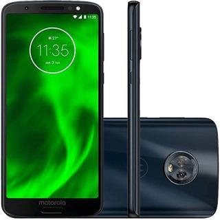 Smartphone Moto G6 32gb 4g Xt1925-3 Tela 5.7 Câmera Dupla