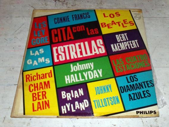 Cita Con Las Estrellas Beatles Johnny Hallyday Lp / Kktus