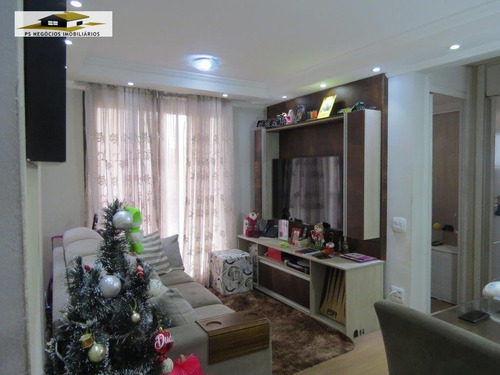 Apartamento A Venda No Bairro Jardim Vergueiro (sacomã) Em - Ap168-1
