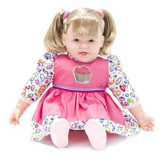 Boneca Bebê Bate Palminha Com Som - Cotiplas
