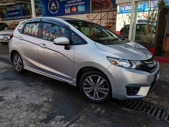 2015 Honda Fit Hit 1.5l Aut Plata Diamante