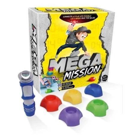 Juego De Mesa Mega Mission Con Postas Accesorios Luces 41306