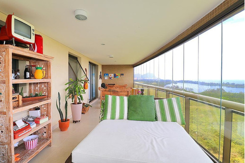 Imagem 1 de 30 de Espetacular Apartamento De 4 Suítes No Itaúna Gold, Barra Da Tijuca, Rio De Janeiro - Ap0037