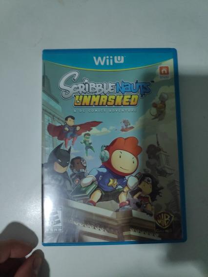 Scribblenauts Unmasked Wii U Midia Fisica