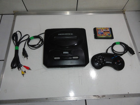 Mega Drive 3 Console Completo Com Jogos C04