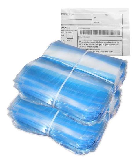 1000 Envelope Janela Canguru Saco Nota Fiscal Danfe 12x10
