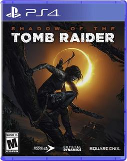 Shadow Of The Tomb Raider / Juego Físico / Ps4