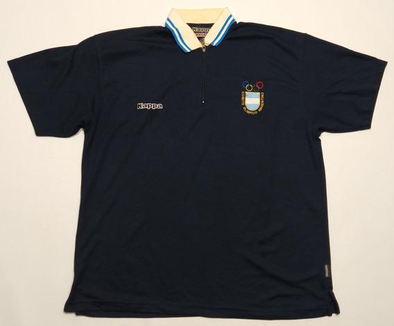 Chomba Comité Olímpico Argentino Kappa Talle Xxxl Azul