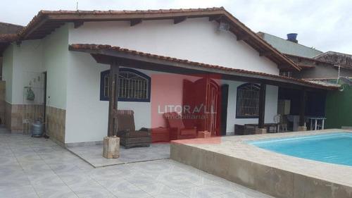 Imagem 1 de 18 de Casa Com 2 Dormitórios À Venda, 85 M² Por R$ 330.000,00 - Jardim Fazendinha - Itanhaém/sp - Ca1292