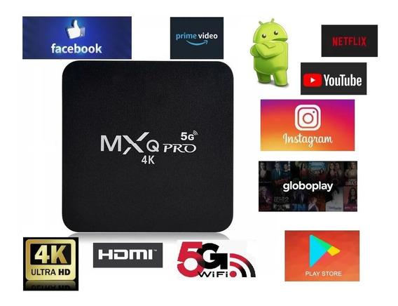 Aparelho Smart Tv Pro 5g 4k Android 10.1 4g + 32g Premium