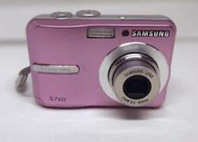 Samsung S760 Digital Camera (pink)