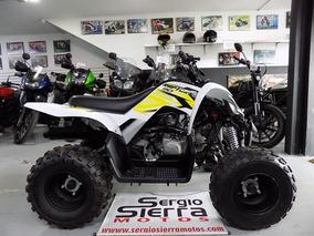 Yamaha Raptor90 Negro Blanco 2017