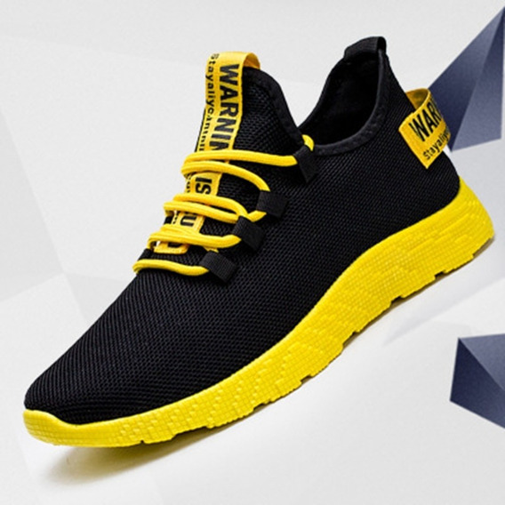 Tênis Masculino Yellow Black (importado)