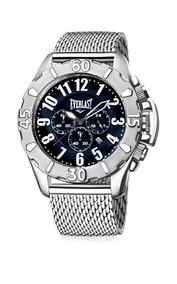 Relógio Pulso Everlast Renegade Chrono Ii E25415 + 2 Brinde