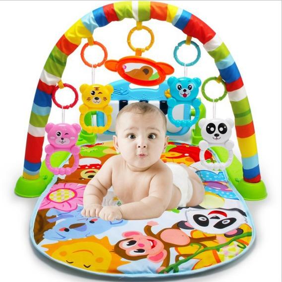 Tapete De Atividades Infantil Bebe Com Musica Som E Luz