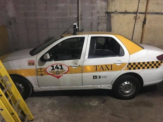 Taxi Fiat Siena Del 2014 Al Dia Trabajando.
