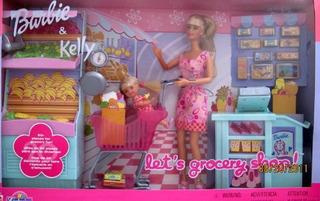 Barbie & Kelly Vamos A Comprar Tienda De Comestibles 27