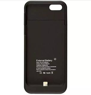 Bateria Externa Capa Case iPhone 6 7s 8 Carregador 10000mah