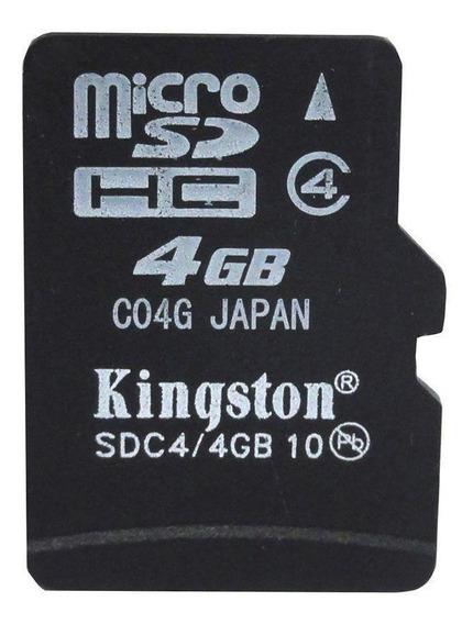 Cartão De Memória Micro Sd 4gb Kingston Pronta Entrega