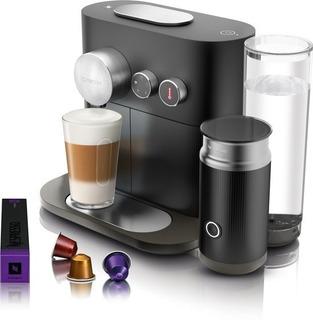 Máquina De Café De Gama Alta Nespresso Expert&milk Off-black