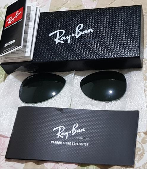 Par De Lente Do Óculos SolarRay-ban Aviador Rb8307 002/n5 5