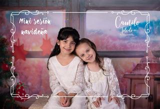 Mini Sesion Fotografica Bebe Navidad