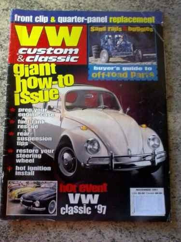 Revista Importada Vw Custom & Classic/fusca/raridade