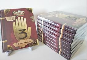 Livro O Diário Perdido De Gravity Falls (lacrado) Capa Dura