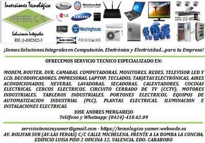 Reparación Tarjeta Electrónica Aire,lavadora,nevera,tv,deco