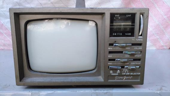 Tv Broksonic De 5 Polegada Preto E Branco
