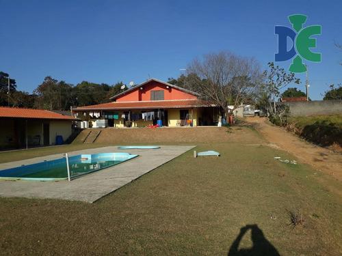 Chácara Com 5 Dormitórios À Venda, 12000 M² Por R$ 950.000,00 - Chácaras Rurais De Guararema - Jacareí/sp - Ch0075