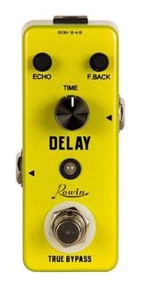 Pedal Delay Rowin Mini Para Guitarra Efecto