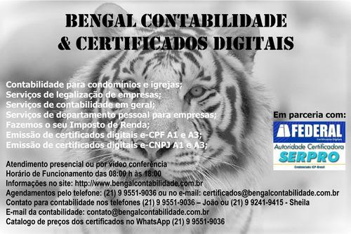 Imagem 1 de 6 de Serviços De Contabilidade E Certificados Digitais