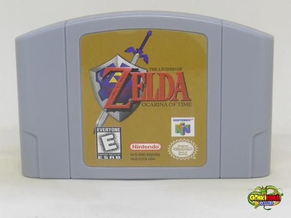 Zelda Ocarina Of Time Nintendo 64 Novo N64