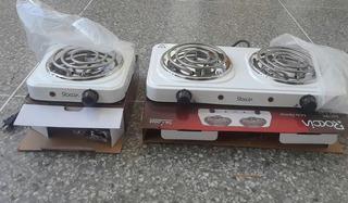 Cocina Eléctrica 2hornillas 110v Roccia