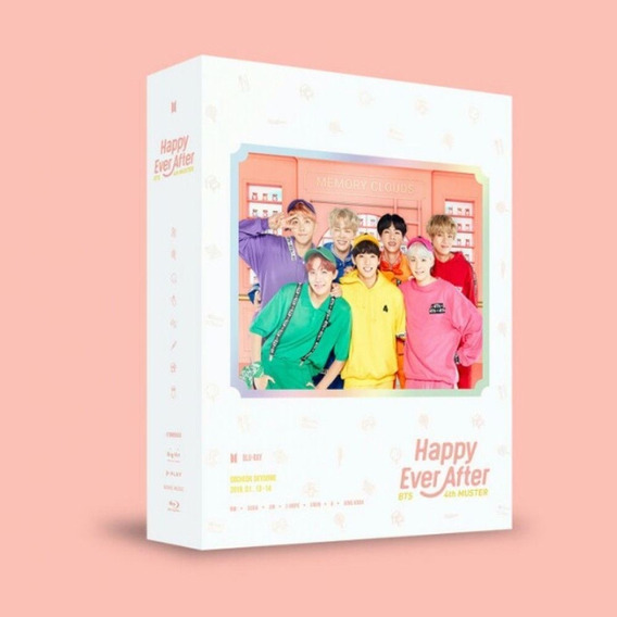 Kpop Bts 4th Muster Happy Ever After Blu Ray 03 Discos