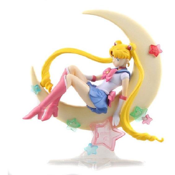 Figura Sailor Moon Luna, 15 Cm. 20 Aniversario. Envio Gratis